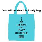 Be Happy And Play Ukulele Bag