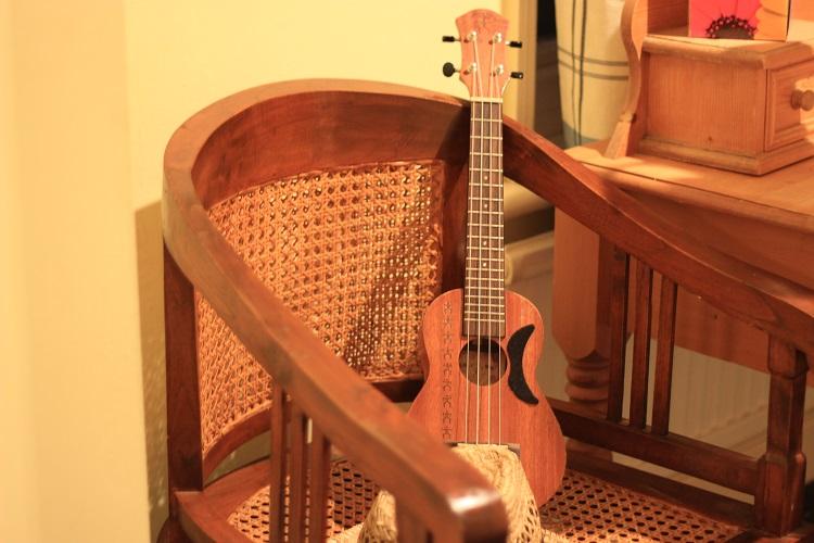 Lorraine's ukulele