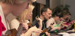 advanced beginners ukulele course in London