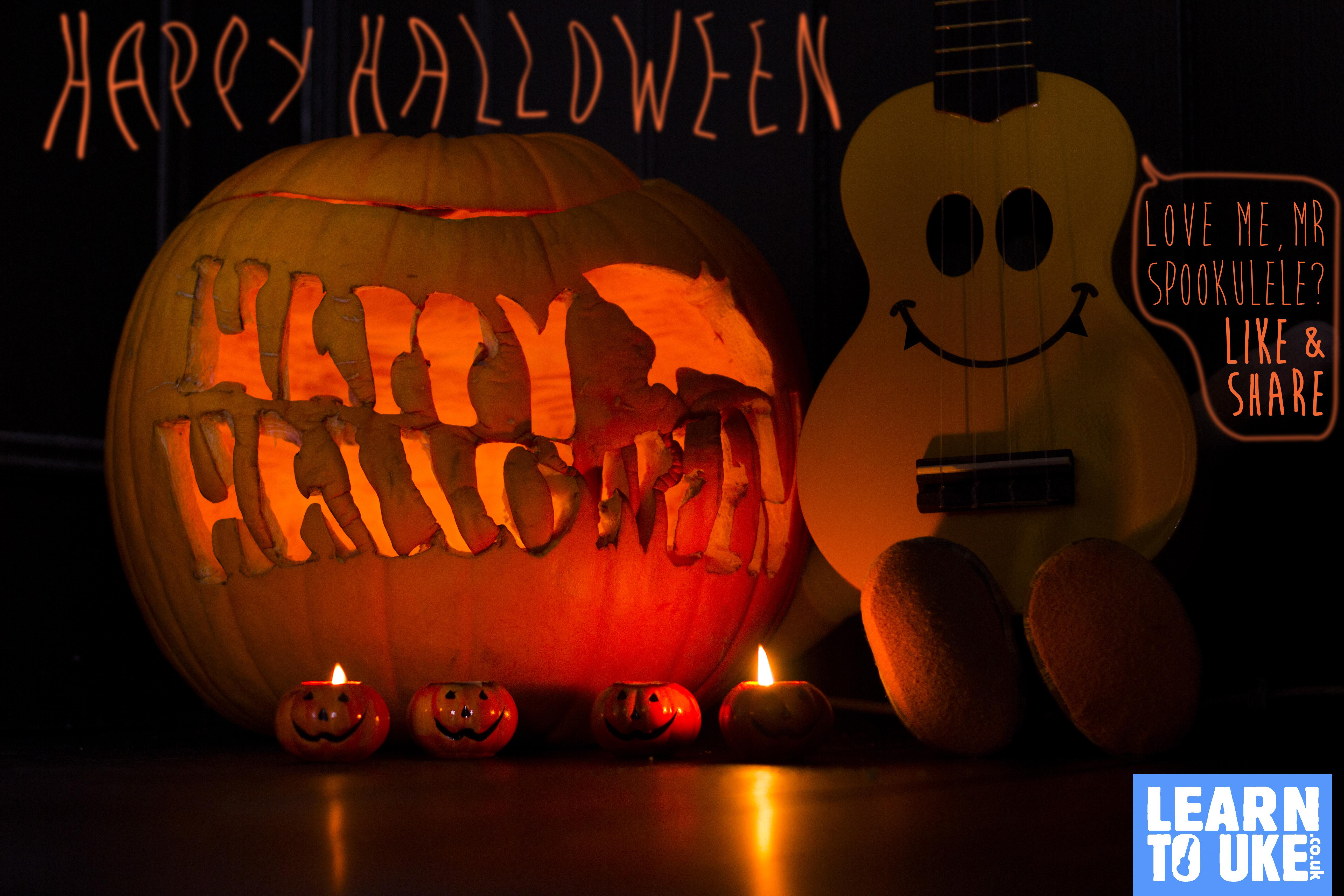 Happy Halloween From Mr Ukulele!