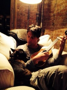 Zach Braff learning ukulele for his latest role