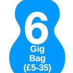 6 gig bag