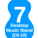 7 music stand